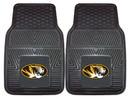Missouri Tigers Heavy Duty 2-Piece Vinyl Car Mats