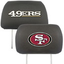 San Francisco 49ers Headrest Covers FanMats