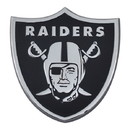 Las Vegas Raiders Auto Emblem Premium Metal Chrome