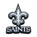New Orleans Saints Auto Emblem Premium Metal Chrome