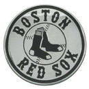 Boston Red Sox Auto Emblem Premium Metal Chrome