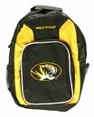 Missouri Tigers Backpack Southpaw Style Wheat