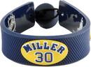 Nashville Predators Bracelet Team Color Jersey Ryan Miller Design