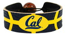 California Golden Bears Team Color Basketball Bracelet