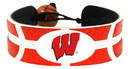 Wisconsin Badgers Team Color Basketball Bracelet