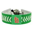 St. Louis Cardinals Bracelet Baseball St. Patrick's Day
