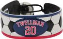 New England Revolution Bracelet Classic Soccer Taylor Twellman