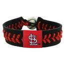St. Louis Cardinals Bracelet Team Color Baseball StL Logo