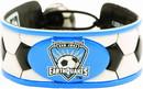 San Jose Earthquakes Bracelet Classic Soccer