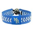 Myrtle Beach Pelicans Bracelet Team Color Baseball