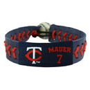 Minnesota Twins Bracelet Team Color Baseball Joe Mauer