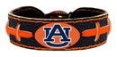 Auburn Tigers Team Color Football Bracelet