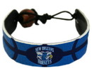 New Orleans Hornets Team Color Basketball Bracelet