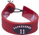 Ottawa Senators Bracelet Team Color Jersey Daniel Alfredsson Design