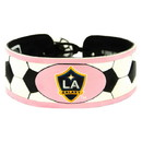 Los Angeles Galaxy Bracelet Soccer Pink