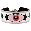 DC United Bracelet Soccer Pink