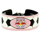New York Red Bulls Bracelet Soccer Pink
