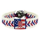 Detroit Tigers Bracelet Baseball Stars and Stripes