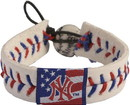 New York Yankees Bracelet Classic Baseball Stars and Stripes