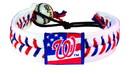 Washington Nationals Bracelet Classic Baseball Stars and Stripes