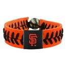 San Francisco Giants Bracelet Team Color Baseball Orange