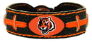 Cincinnati Bengals Team Color Football Bracelet