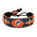 Miami Dolphins Bracelet Team Color Football