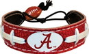 Alabama Crimson Tide Bracelet Team Color Football A Logo