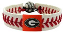 Georgia Bulldogs Power G Logo Classic Baseball Bracelet