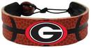 Georgia Bulldogs Power G Logo Classic Basketball Bracelet