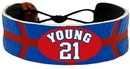 Philadelphia 76ers Bracelet Team Color Basketball Thaddeus Young