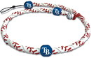 Tampa Bay Rays Classic Frozen Rope Baseball Necklace