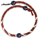 Houston Texans Classic NFL Spiral Football Necklace