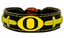 Oregon Ducks Bracelet - Team Color Football