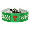 Philadelphia Phillies St. Patrick's Day Baseball Bracelet