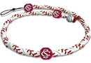 South Carolina Gamecocks Classic Frozen Rope Baseball Necklace