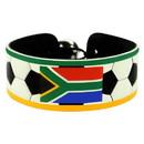 South Africa Flag Bracelet Classic Soccer