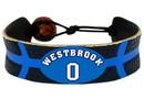 Oklahoma City Thunder Bracelet Team Color Basketball Russell Westbrook