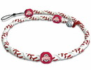 Ohio State Buckeyes Necklace Frozen Rope Classic Baseball