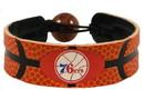 Philadelphia 76ers Classic Basketball Bracelet