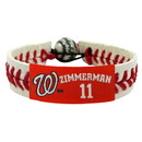 Washington Nationals Bracelet Classic Baseball Ryan Zimmerman