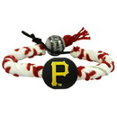 Pittsburgh Pirates Classic Frozen Rope Baseball Bracelet