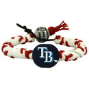 Tampa Bay Rays Classic Frozen Rope Baseball Bracelet