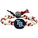 Tampa Bay Rays Classic Frozen Rope Baseball Bracelet