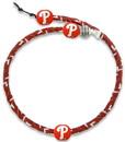 Philadelphia Phillies Team Color Frozen Rope Baseball Necklace