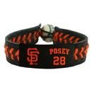 San Francisco Giants Bracelet Team Color Baseball Buster Posey