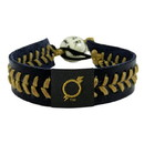 Omaha Storm Chasers Bracelet Team Color Baseball Black and Gold