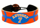 Carmelo Anthony Team Color NBA Jersey Bracelet