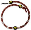 Iowa Hawkeyes Spiral Football Necklace