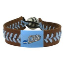 College World Series Bracelet Classic Baseball Logo Brown